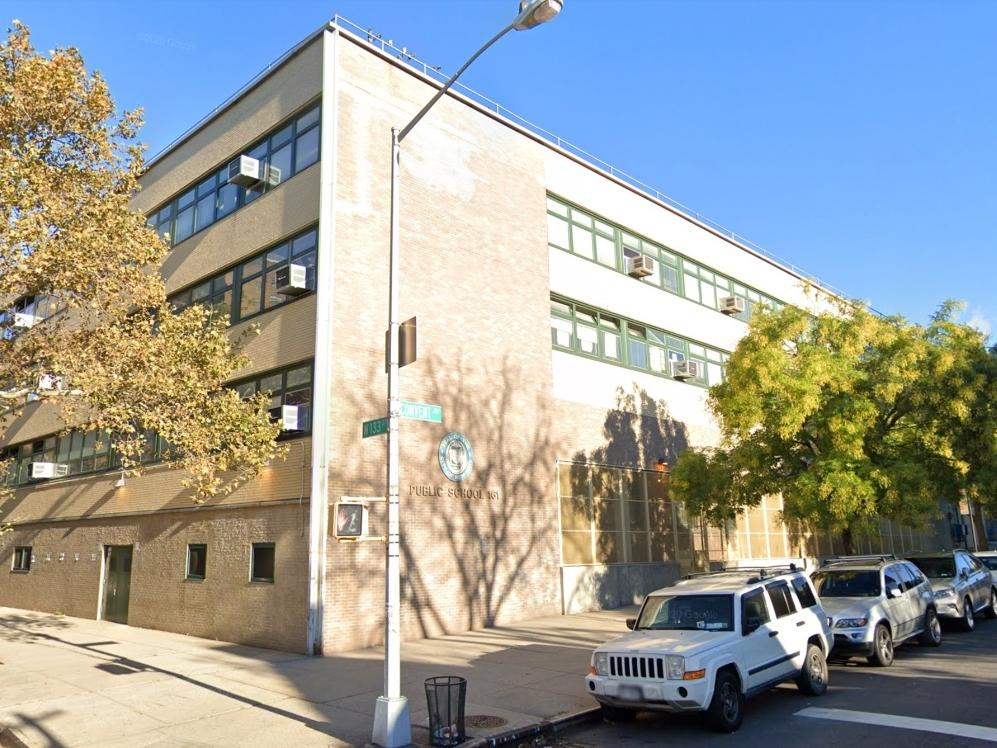 P.S. 161 is among the schools in Harlem's District 5, where 29 percent of students and families have opted to start the year with remote learning.