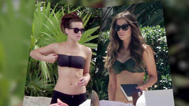 Kate Beckinsale Rocks a Bikini in Mexico