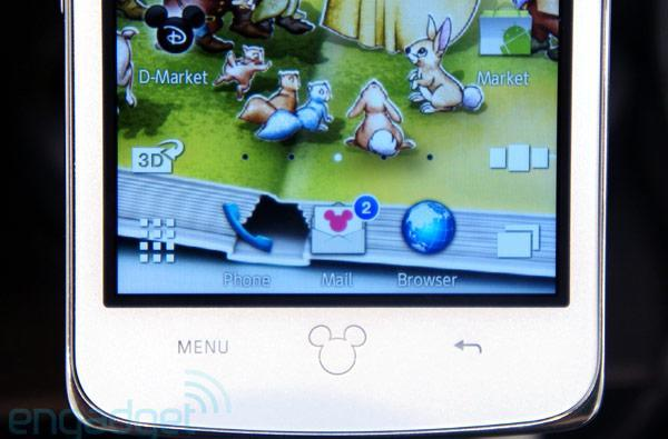 Disney Mobile DM010SH Android phone hits Softbank stores in Japan, we go hands-on (video)