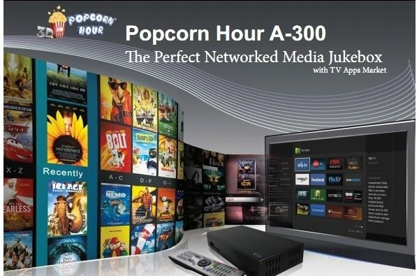 Popcorn Hour A-300 ready to sit quietly and enjoy the movies, starting October 18th (video)