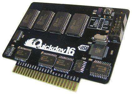 Quickdev16 SNES developers cart: now you too can make games no one will ever play