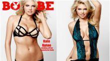 Kate Upton vuelve a ser una explosiva chica de portada para Boysbe