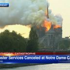 Notre Dame Cathedral moves Easter Sunday service