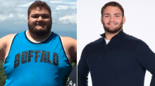 Father's warning inspires son to lose 227 pounds: 'We don't want to have to bury our children'