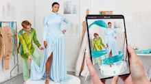 The first Augmented Reality dress will appear on the Baftas red carpet