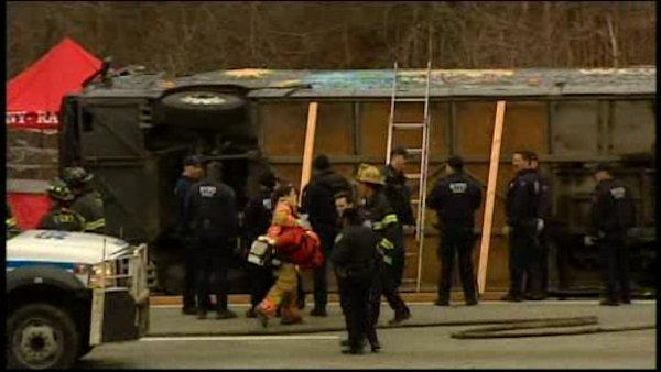 Bus driver in deadly crash found not guilty