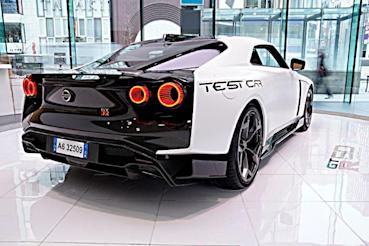 最後的東瀛戰神!NISSAN GT-R五十周年紀念車GT-R50 by Italdesign賽道測試車公開展示