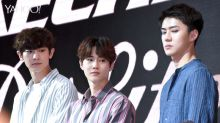 Three EXO members draw 5,500 to Causeway Point for Skechers event