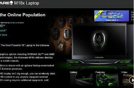 Alienware M18x shipping now, hernia threat level set to high for American delivery men
