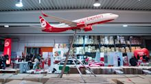 Everything must go: Air Berlin auctions off plane seats, blankets and branded chocolates to raise cash