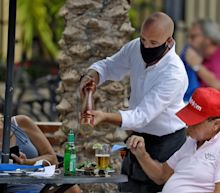 A Florida bar owner is banning customers from wearing masks and asking them to leave if they do