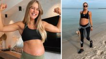Steph Claire Smith's 'one commitment' during pregnancy