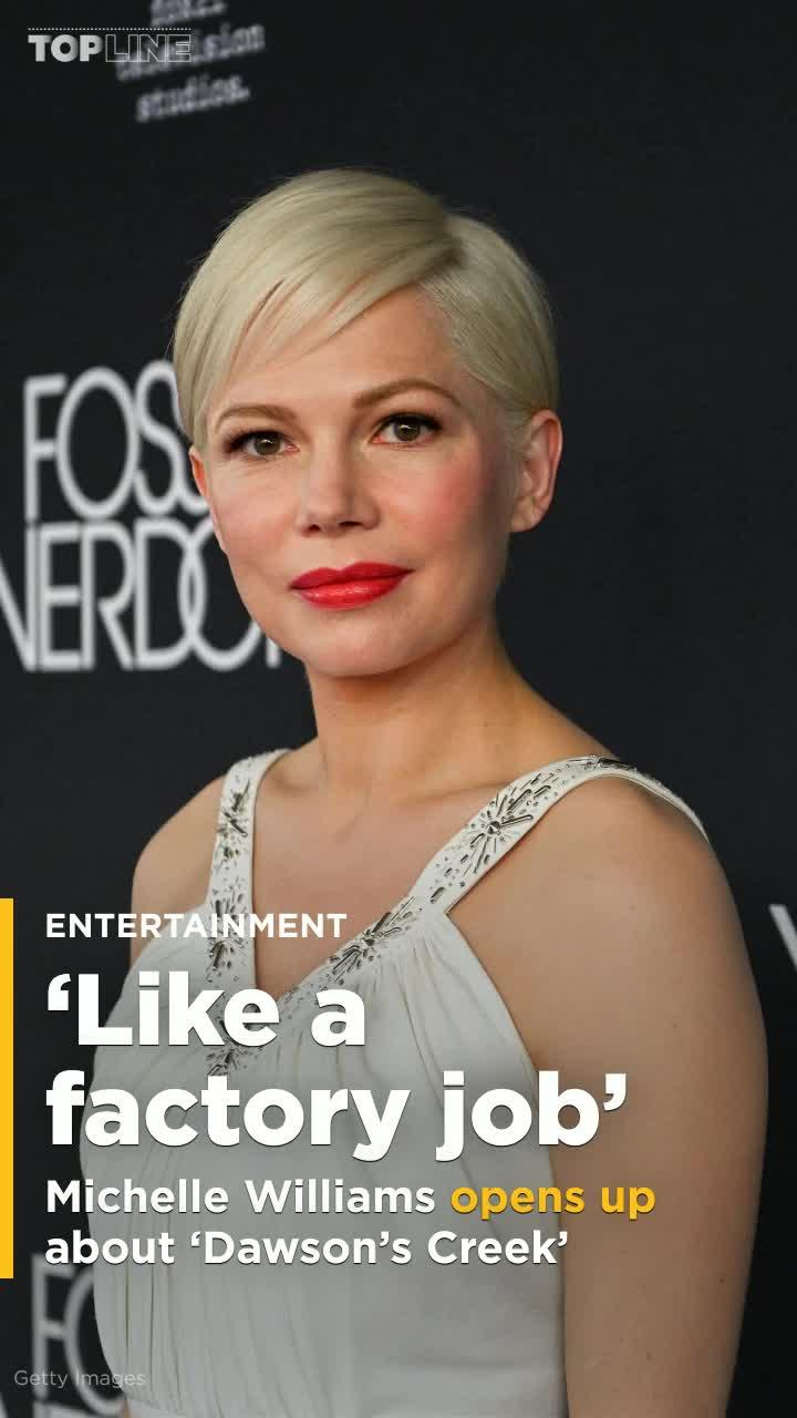 Michelle Williams says 'Dawson's Creek' soured her to TV for a long time