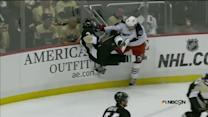 Jenner wallops Scuderi in the corner boards