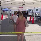 Long lines at Florida testing sites, COVID cases spike