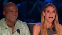 Dirty-dancing 'mini Seal and Heidi Klum' make things awkward on 'AGT'