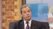 'You're a nutcase!' Nigel Farage ends interview after reporter quizzes him on links with Russia