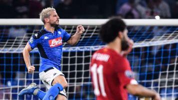 Napoli-Liverpool 2-0. Mertens fa esplodere il San Paolo! Llorente chiude il match