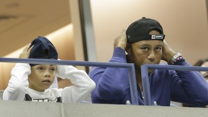 Tiger and his son, 11, to play in PNC Championship