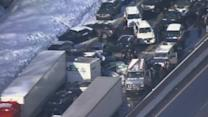Major pileup on Pennsylvania Turnpike