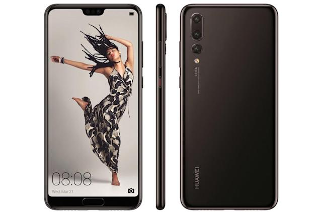 Huawei's notch-infused P20 phone lineup leaks out