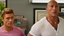 'Baywatch': Dwayne Johnson Says Many of His Zac Efron Burns Came From Efron Himself