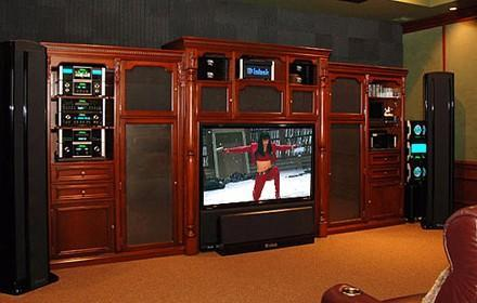 $1 million home theater install is heavy on the McIntosh