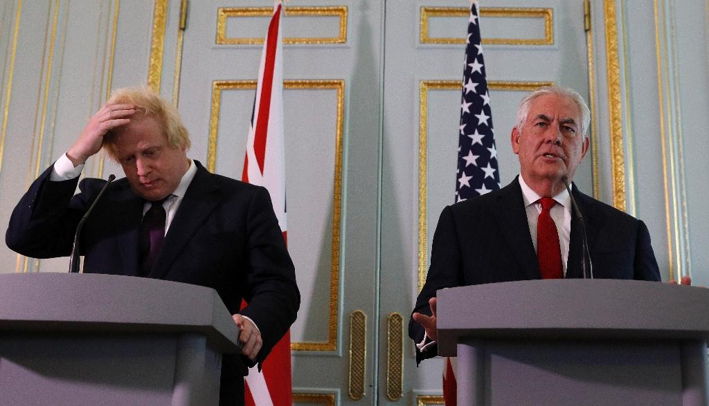 The UK-US relationship has come under pressure after intelligence leaks (AFP Photo/Adrian DENNIS)