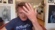Sean Penn confirms he and Leila George had a 'COVID wedding'
