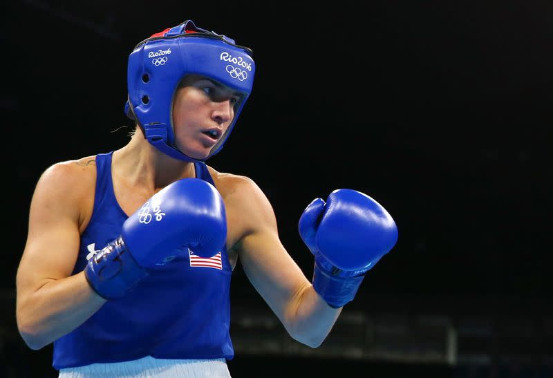 Boxing - Women's Light (60kg) Round of 16 Bout 142