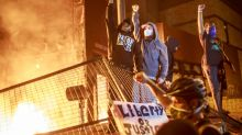 Hundreds of troops deployed as angry US anti-racism protests spread