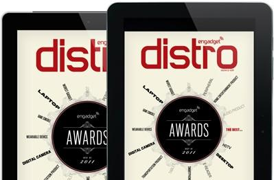 Roll out the red carpet -- Distro Issue 29 presents the Engadget Awards