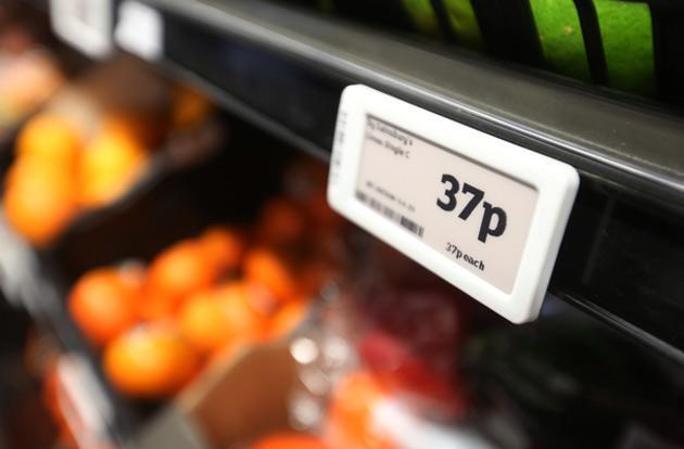 Sainsbury's swaps pricing labels for e-ink displays in one London store