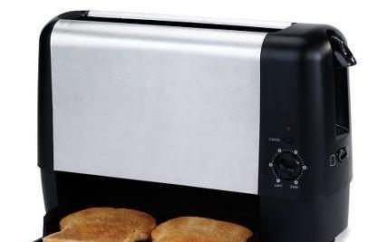 "Trapdoor Toaster releases bread on the bottom, removes trademark ""pop"""