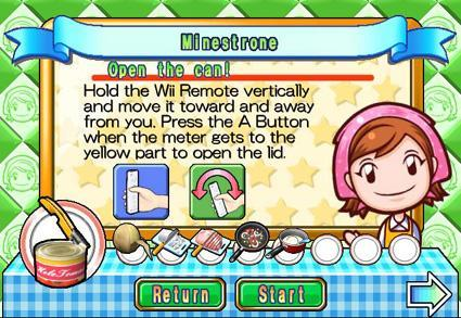 Hot Cooking Mama screens from the oven