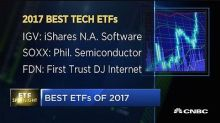 Record ETF inflows in 2017
