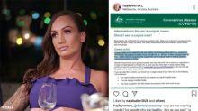 MAFS' Hayley Vernon's 'dangerous' coronavirus theory blasted