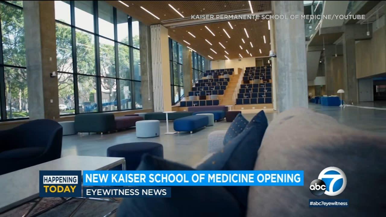 New Kaiser Permanente medical school set to open in Pasadena [Video]