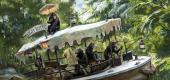 Concept art for updates coming to the Jungle Cruise attraction at Disneyland and Florida's Walt Disney World. (Walt Disney Imagineering)