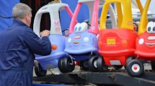Timeless children's toy Cozy Coupe is Britain's best-selling car