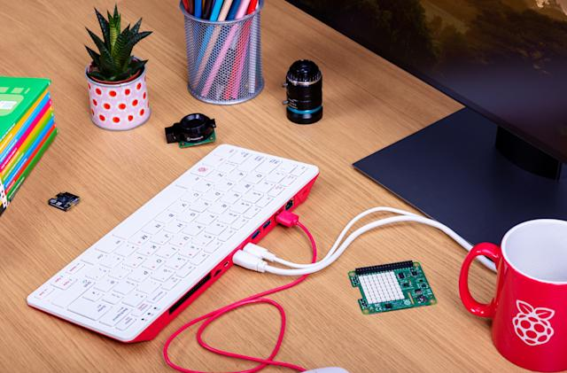 The Raspberry Pi 400 is a $70 keyboard that's also a computer