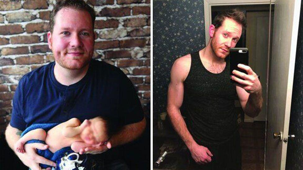How one man was finally able to lose 63 kilos
