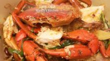 麻辣粉絲肉蟹煲  今日去深水埗買咗一隻澳洲肉蟹,澳洲肉蟹啲蟹膏非常乾淨,蟹肉非常鮮甜,感覺食得安心啲。