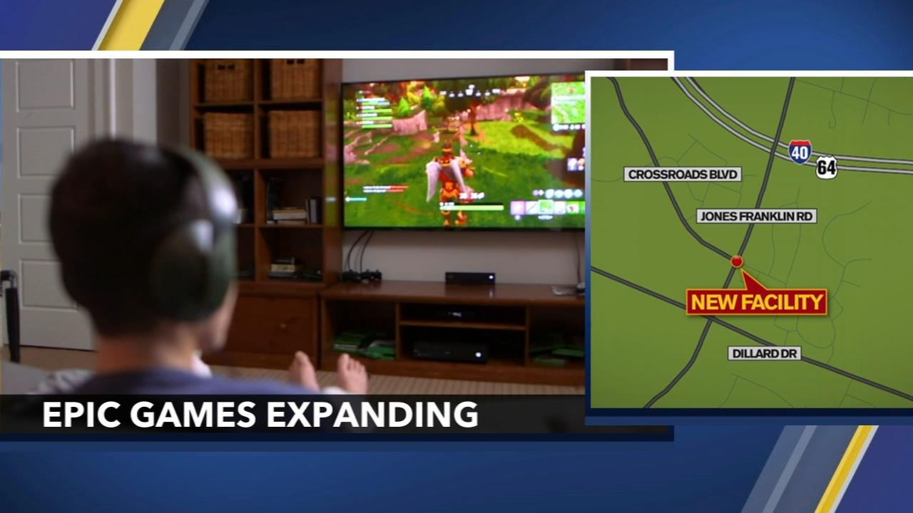 Epic Games announces expansion of Cary headquarters Video
