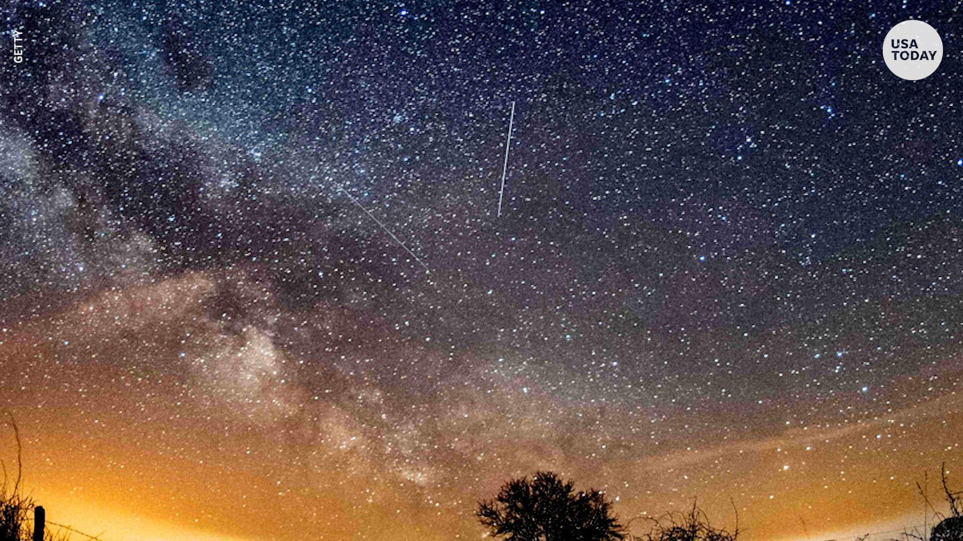 The Lyrid meteor shower will light up the sky this week and peak on Thursday. Here's how to watch these shooting stars.