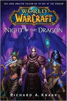 Knaak signing at a midnight launch in Arkansas, Blizzard to release audiobooks