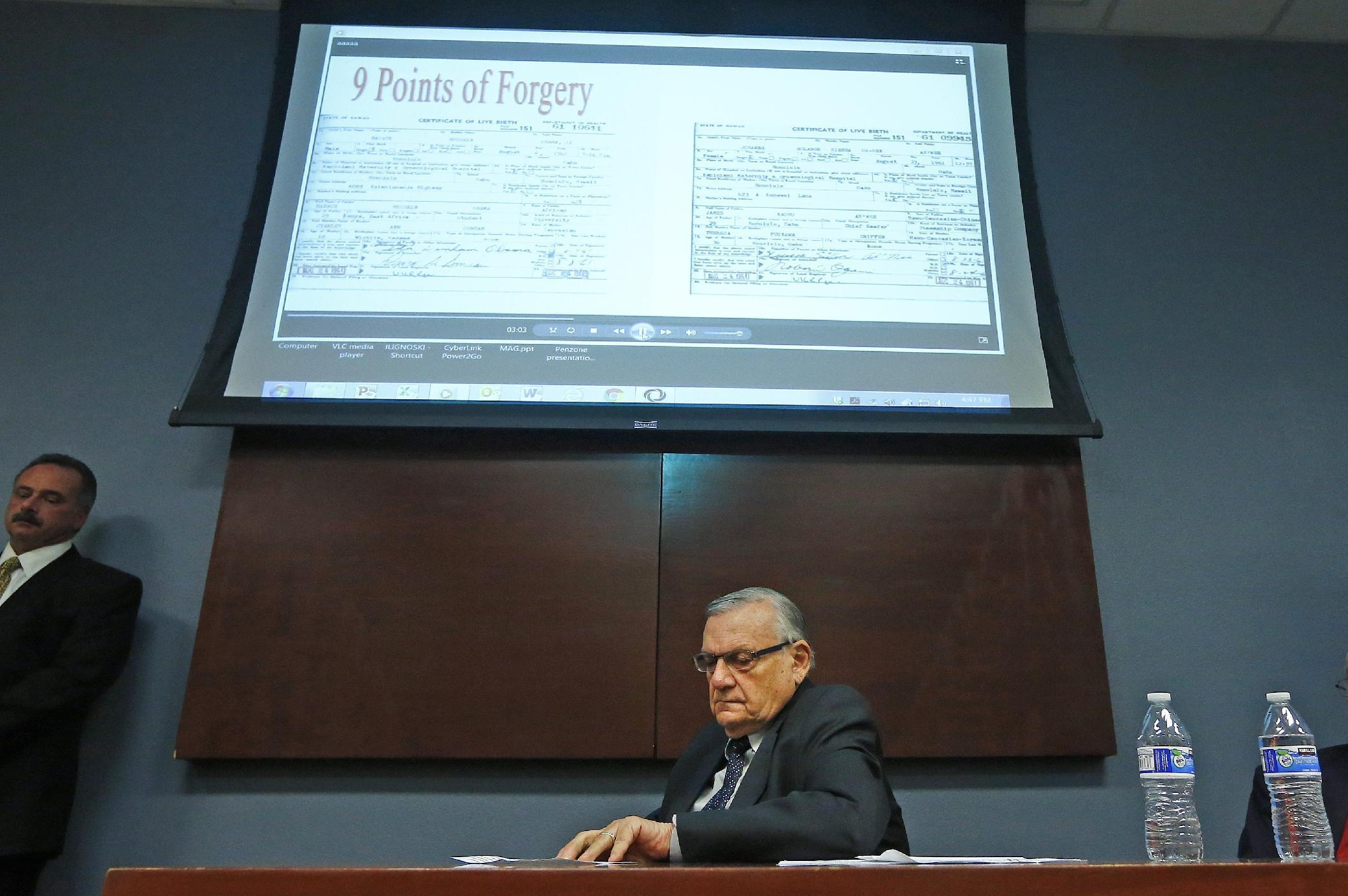 Sheriff joe arpaio closes probe of obama birth certificate xflitez Gallery