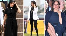 Pregnant Meghan has three outfit changes for day five of royal tour