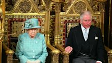 Why the Queen was not wearing a crown during the State Opening of Parliament