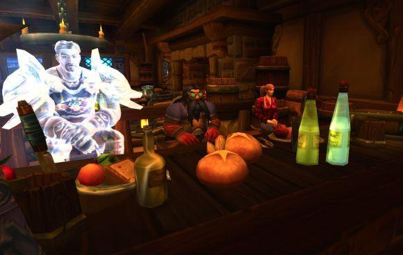 Around Azeroth: We drink alone, with nobody else